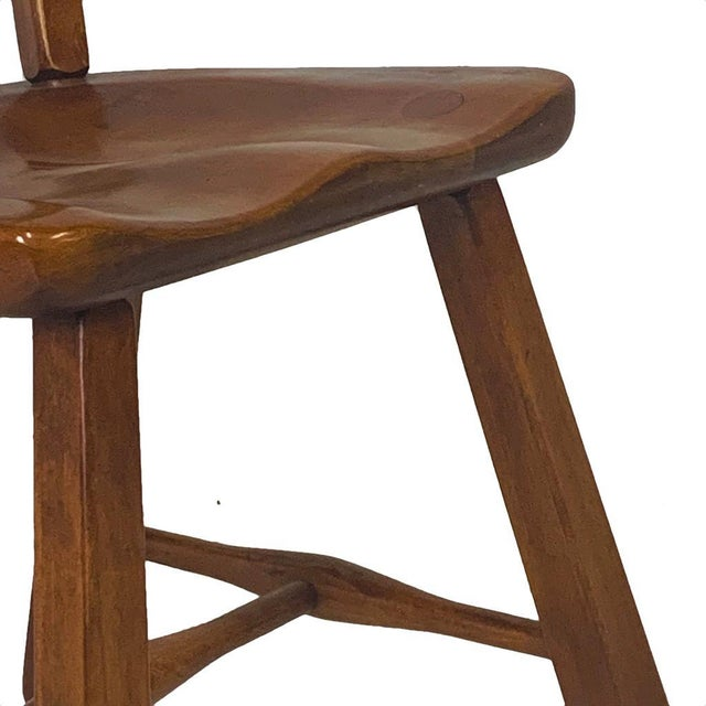 Set of 6 Cushman Vermont Rock Maple Dining Chairs Designed by Herman DeVries For Sale - Image 9 of 13