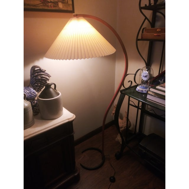 Danish Modern Vintage Danish Modern Bentwood Mads Caprani Floor Lamp For Sale - Image 3 of 13