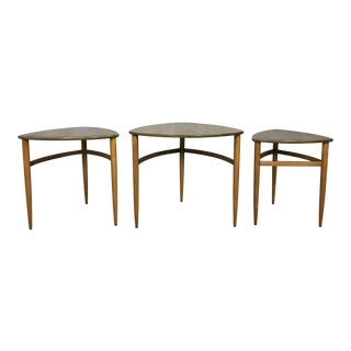 Danish Modern Style Morganton Nesting Tables For Sale