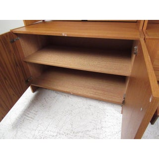 Scandinavian Modern Teak Wall Unit Preview