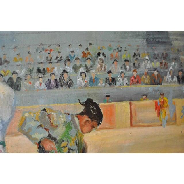 """Matador and the Señorita"" Oil on Canvas - Image 8 of 10"