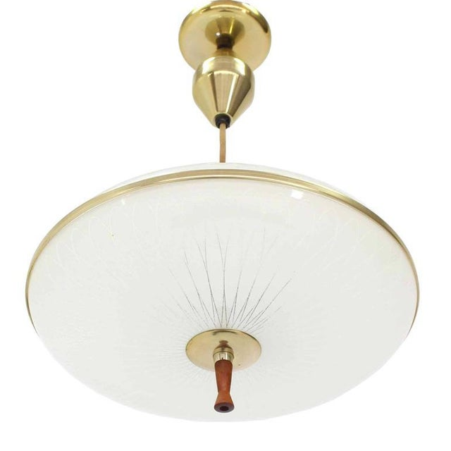 Retractable Adjustable Height Light Fixture For Sale - Image 4 of 10