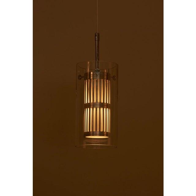 Mid-Century Modern 1960s Pendant Lamp in Manner of Hans Agne Jakobsson For Sale - Image 3 of 12