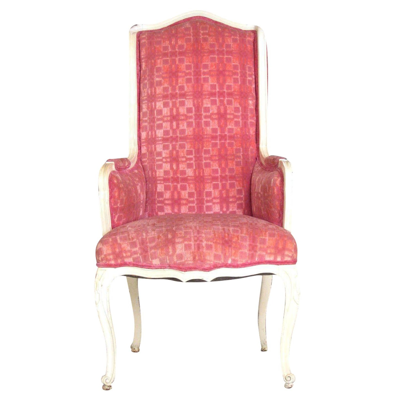 Pink Accent Chair Ireland: Pink Highback Wing Chair