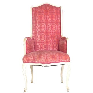 Pink Highback Wing Chair