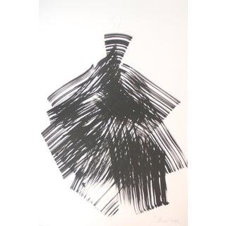 """""""The Black Dress 17"""" Original Artwork by Bettina Mauel For Sale"""
