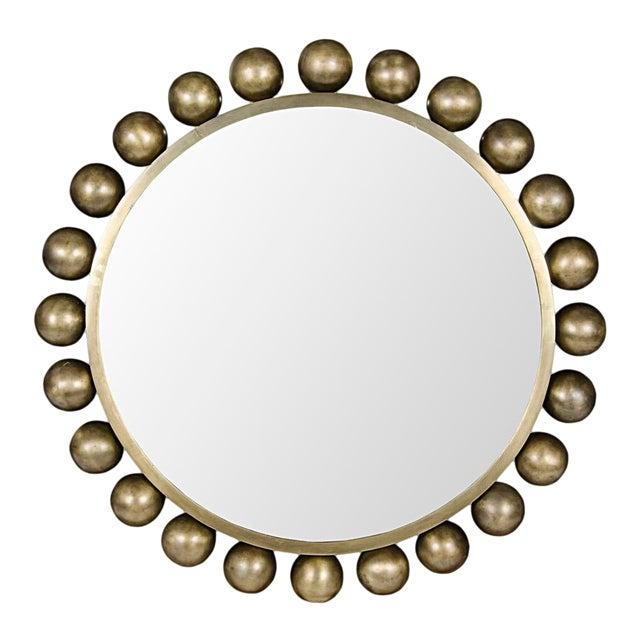 Cooper Mirror, Antique Brass For Sale