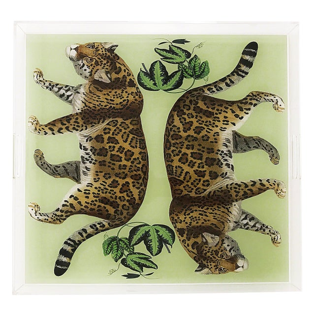 Our Acrylic Trays make for incredible entertaining pieces. With our signature patterns on the back of the tray, Nicolette...