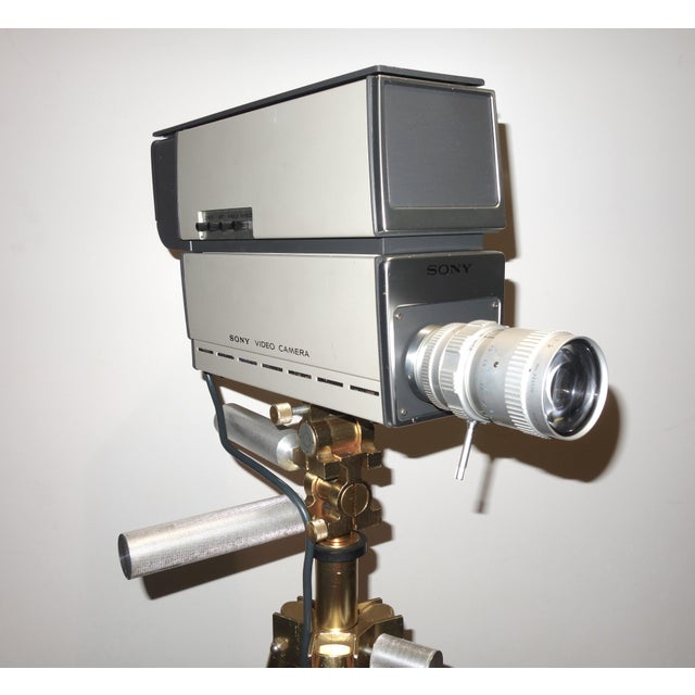 Sony Vintage Vidicon Industrial Video Camera Circa 1969-70 Complete With Tripod. ON SALE For Sale In Dallas - Image 6 of 11