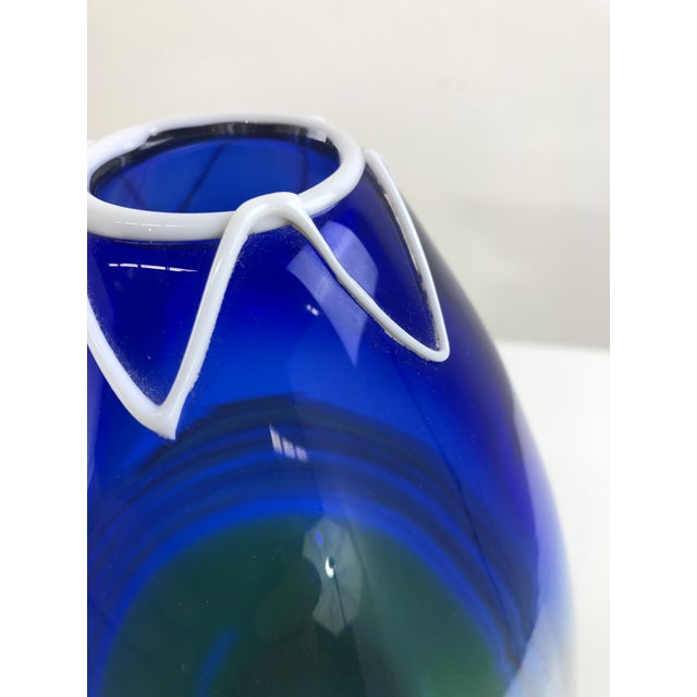 1960s Vintage Gino Cenedese Murano Vase For Sale In Miami - Image 6 of 13