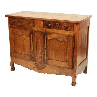 19th Century Antique Louis XV Provincial Buffet For Sale