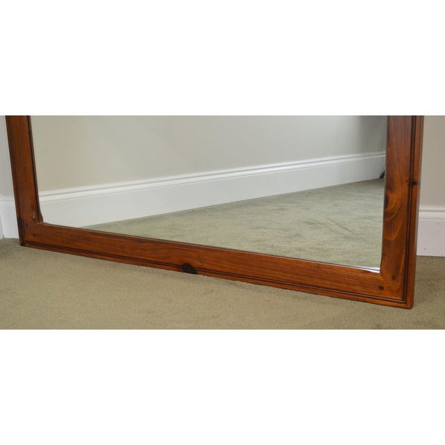 Ethan Allen Country Craftsman Collection Pine Mirror For Sale - Image 10 of 13