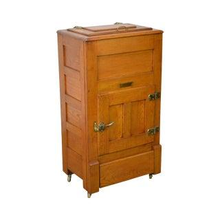 Garland Antique Golden Oak Ice Box