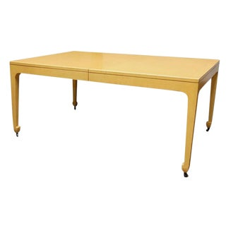 Baker Far East Oak Dining Table For Sale