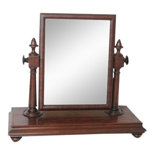 Antique Gentleman Vanity Mirror