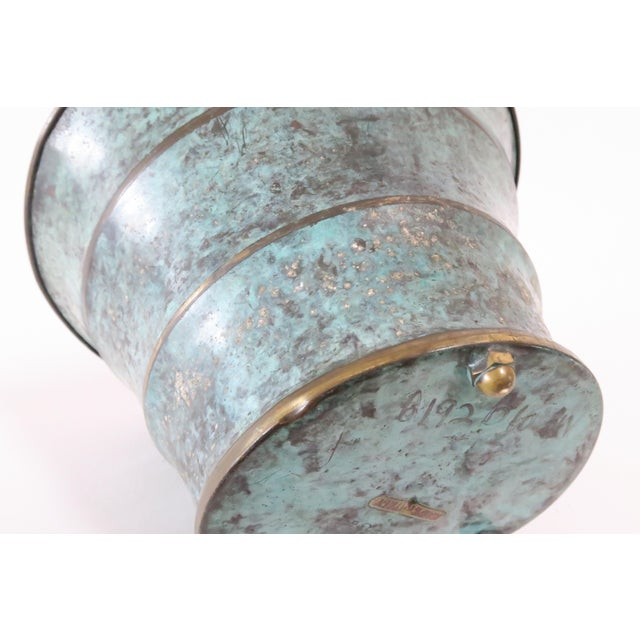 Vintage Italian Bronze Vase - Image 6 of 7