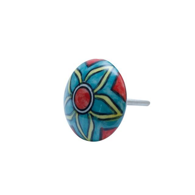 2010s Ceramic Knob Handles - Set of 6 For Sale - Image 5 of 7