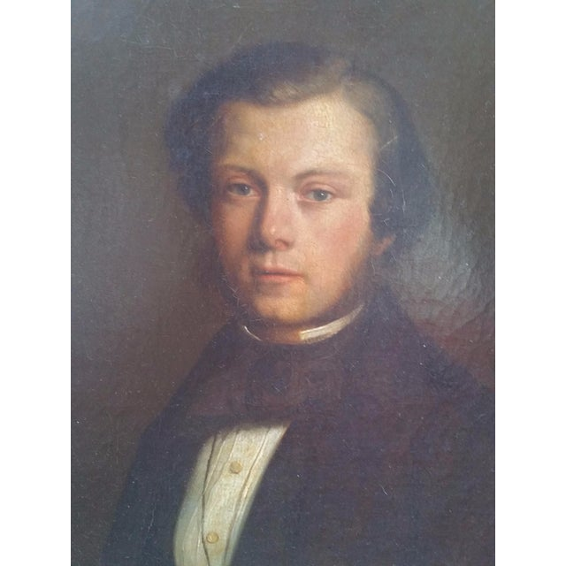 19th Century Portrait of a Man - Image 2 of 7