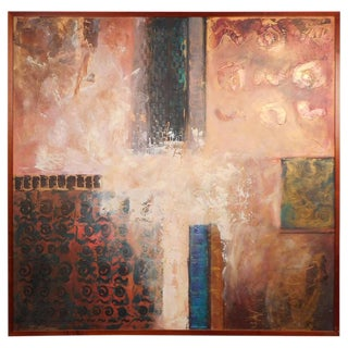 J. Stevens Contemporary Abstract Painting For Sale