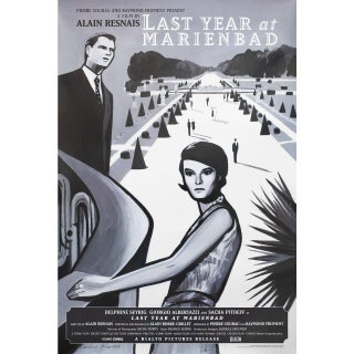 Last Year at Marienbad R2008 U.S. One Sheet Film Poster For Sale
