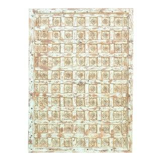 19th Century Floral Rajkot Ceiling Panel For Sale