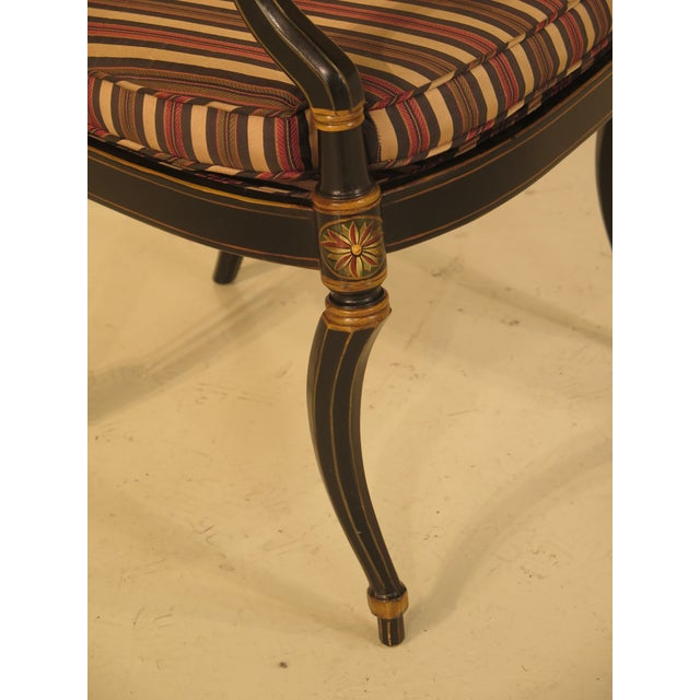 Smith & Watson Regency Decorated Armchairs - A Pair - Image 5 of 11