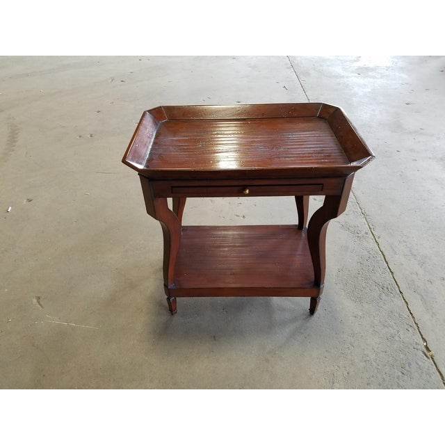 Anthology English Tray Top Chairside - Image 2 of 2