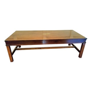 1970s Traditional Mahogany Bombay Coffee Table For Sale