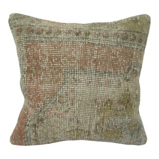 Turkish Vintage Faded Decorative Pillow Cover For Sale