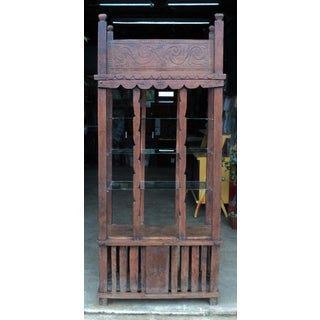 Antique World Asian Far East Spanish African Country Display Cabinet Etagere Preview