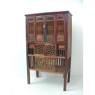 Antique Chinese Cabinet with Original Lacquer Preview