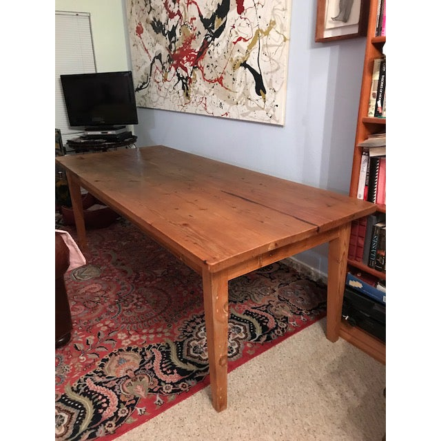 Antique Pine Farm French Table For Sale - Image 12 of 13