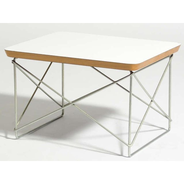 The LTR (or Low Table with Rod base) by Charles and Ray Eames is a delightful little design. A small side or occational...