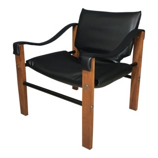 Mid Century Maurice Burke Safari Chair for Arkana