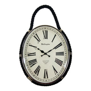 Oval Colmore Wellington Wall Clock