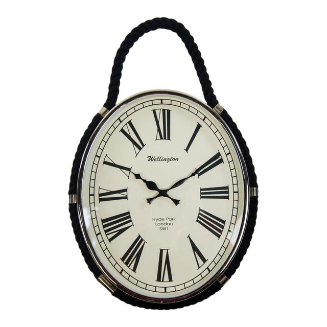 Image of Oval Colmore Wellington Wall Clock