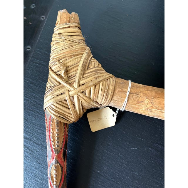 Tribal Ceremonial Weapon from Highlands of Papua New Guinea Provenance - A Pair For Sale - Image 3 of 13