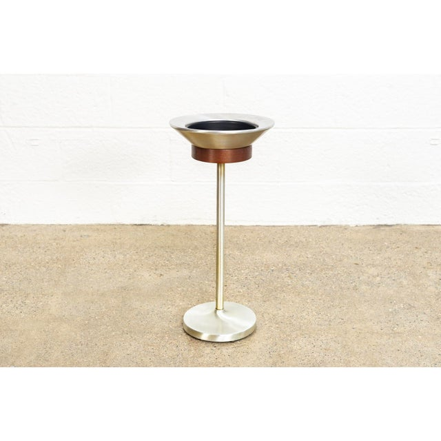 Mid Century Floor Stand Ashtray For Sale - Image 10 of 10