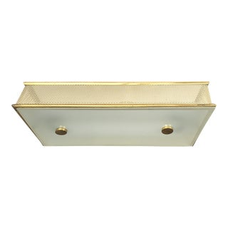 Pierre Guariche St. Rectangular Flush Mount For Sale