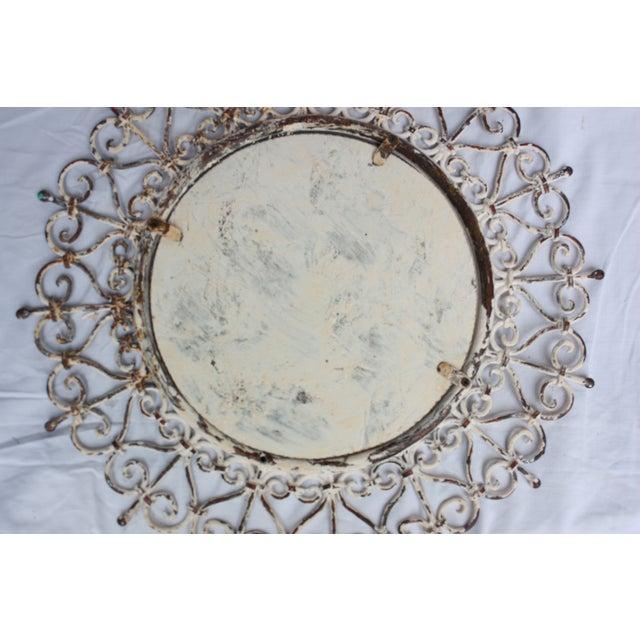 White Iron Mirror - Image 4 of 4