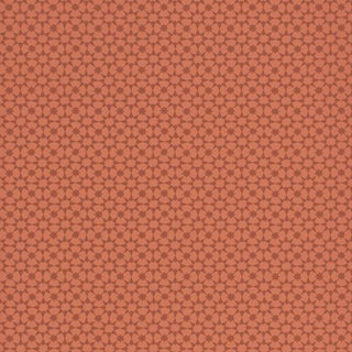 Sample - Schumacher Medina Wallpaper in Persimmon For Sale