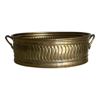 Vintage Brass Plant Tray