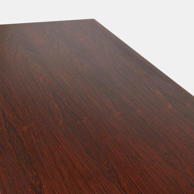 Omann Jun rosewood executive desk - Image 5 of 8
