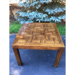 Vintage Henredon Parson's Style End Table Preview