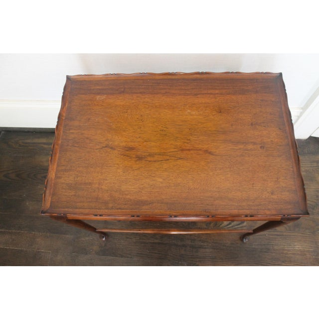 19th Century English Nesting Tables - Set of 3 For Sale - Image 10 of 13