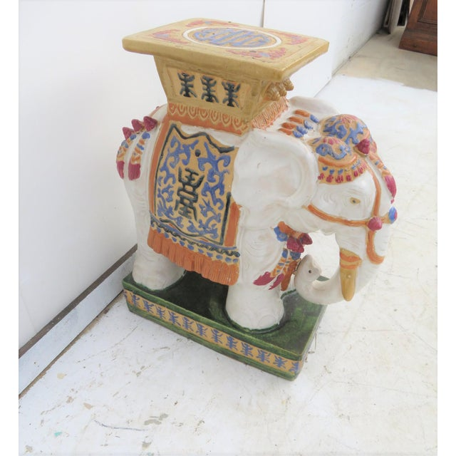 Chinese Elephant Garden Stool - Image 3 of 6