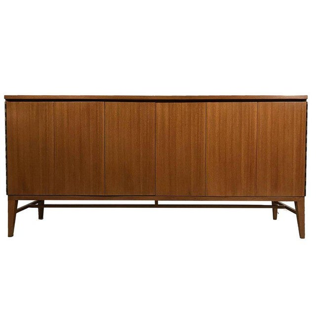 Wood Paul McCobb Calvin Group Tri-Fold Bleached Mahogany Eight-Drawer Dresser For Sale - Image 7 of 7