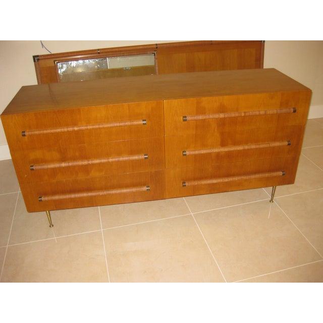 1950 Mid-Century T.H. Robsjohn-Gibbings Double Dresser - Image 2 of 10