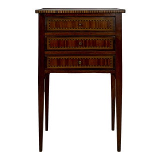 18th-Century Louis XVI Style Side Table For Sale