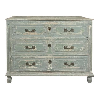 18th Century Country French Painted Commode For Sale